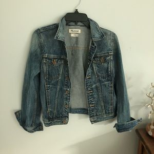 Madewell denim jean jacket xs